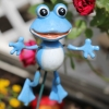 blauer Frosch