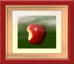 Noch ein Apfel