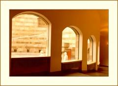 Grandiose Architektur / Blick von innen nach draussen