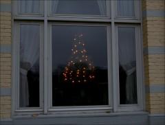 Blick in ein Fenster