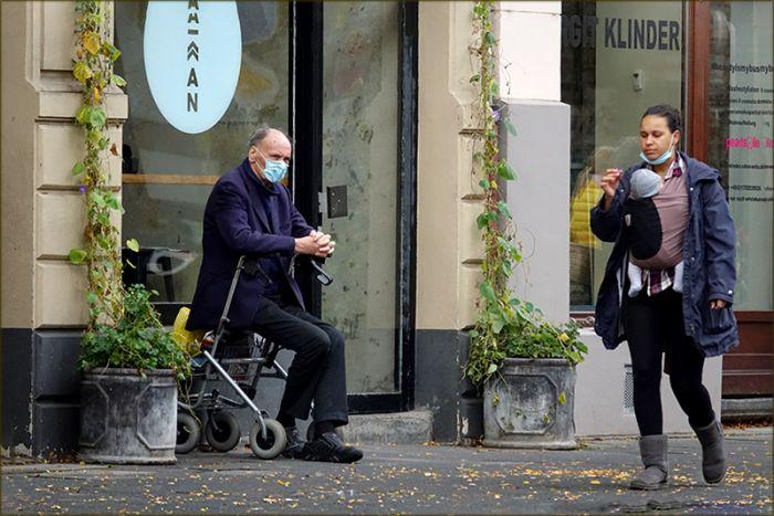 Strassenscene in Köln
