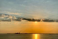 Sonnenaufang am Nil
