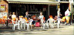 Straßencafe in Köln