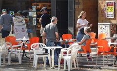 Straßencafe