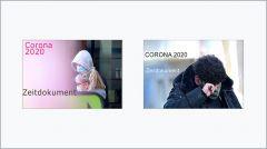 Zwei Coverentwürfe meines eBooks CORONA2020