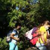 Waldwanderung mit Maske - zweites Foto