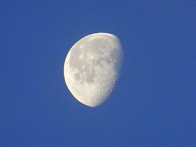 Mond am 15.01.2020