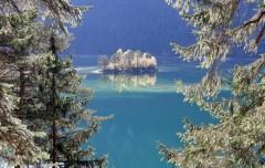Felfrie: Insel im Eibsee