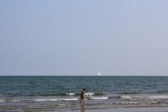 Weg: Am Meer
