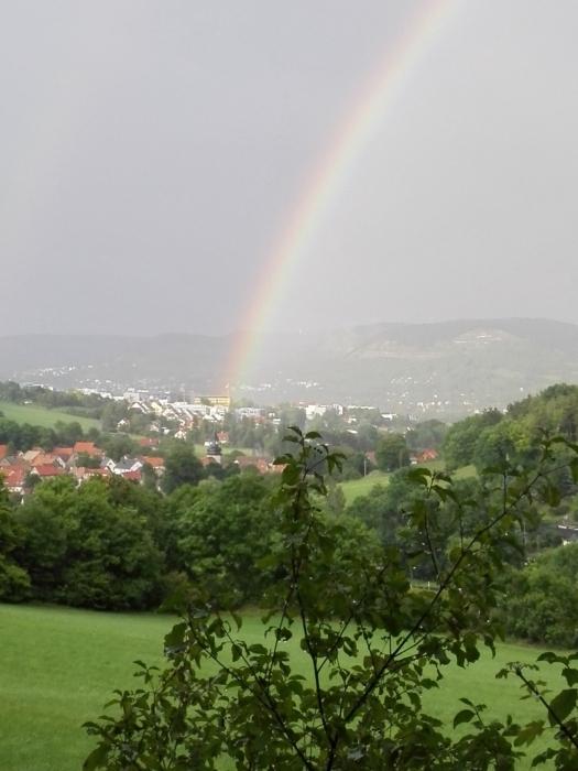 Andy:  Regenbogen