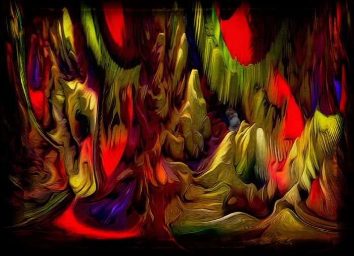 Unterirdische Höhle